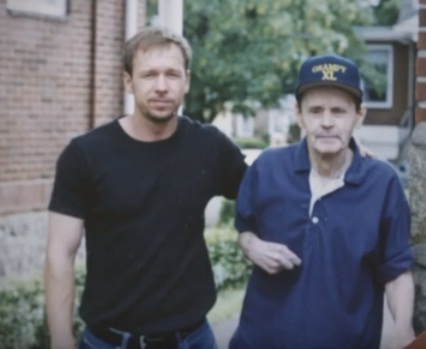 Robert's father Donald Wahlberg & brother Donnie Wahlberg