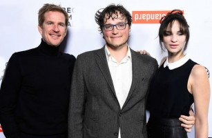 Ruby Modine with brother Boman and Dad Matthew
