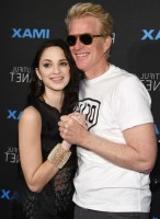 Ruby Modine with her father Matthew Modine