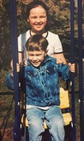 Ryan McCartan childhood with sister Alison McCartan