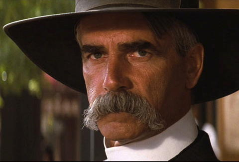 Sam Elliott in his trademark Mustache