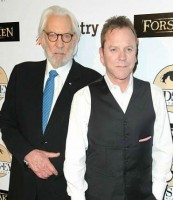 Sarah Sutherland's father Kiefer Sutherland & grandfather Donald Sutherland