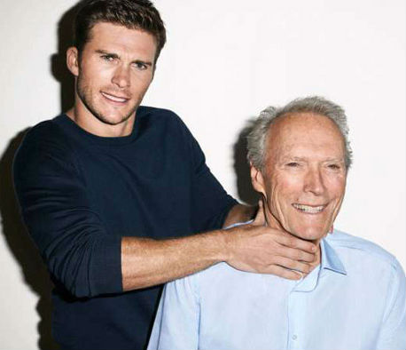 Scott Eastwood with father Clint Eastwood