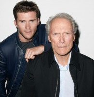 Scott Eastwood with his father Clint
