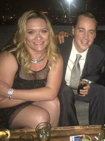 Sean Murray with Wife Carrie James