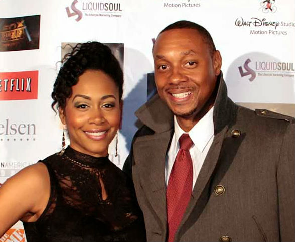 Simone Missick with husband Dorian Missick