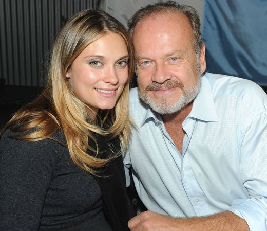 Spencer Grammer With father Kelsey Grammer