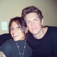 Steve Howey With Wife Sarah Shahi