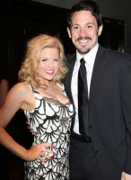 Steve Kazee with Ex-girlfriend Megan Hilty