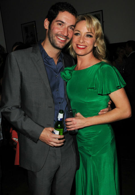Tom Ellis's ex-wife Tamzin Outhwaite
