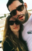 Tom Ellis with girlfriend Meaghan Oppenheimer