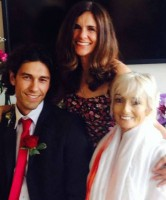 Tom Franco & Julia Lazar wedding
