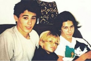 Tom Franco & siblings- young