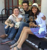 Tom Franco with wife Iris Torres