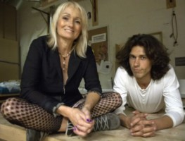 Tom Franco with wife Julia Lazar