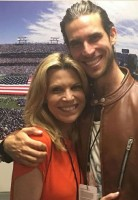 Vanna White with son