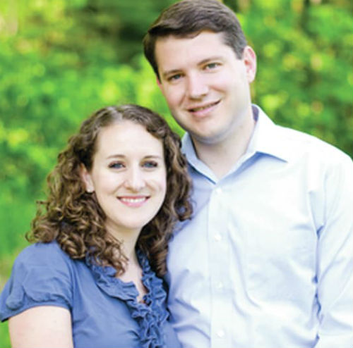 Wes Goodman with wife Bethany Goodman