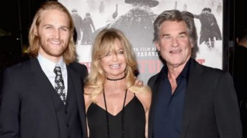 Wyatt Russell with parents- Kurt Rusell & Goldie Hawn