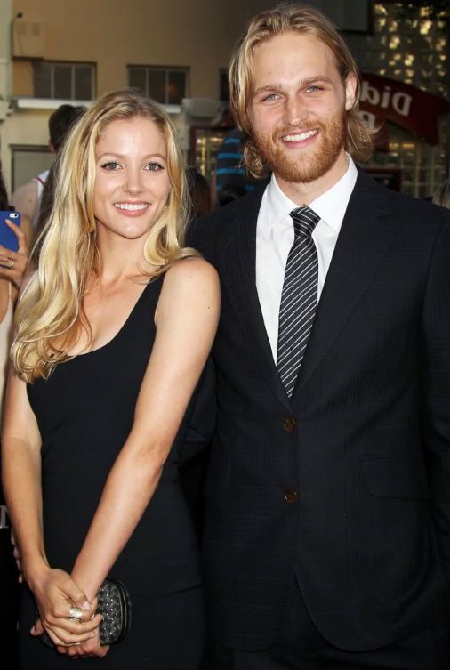 Wyatt Russell with wife Sanne Hamers
