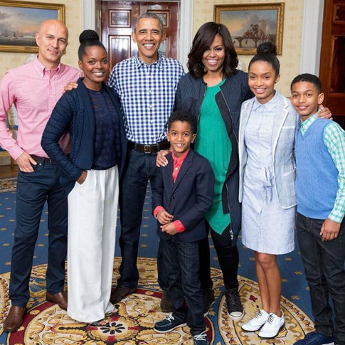 Yara Shahidi Family with Barack Obama & Wife Michelle Obama