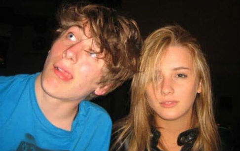 young Jeremy Allen White & Addison Timlin