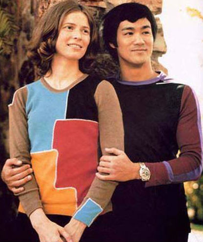 Young Linda with Bruce Lee